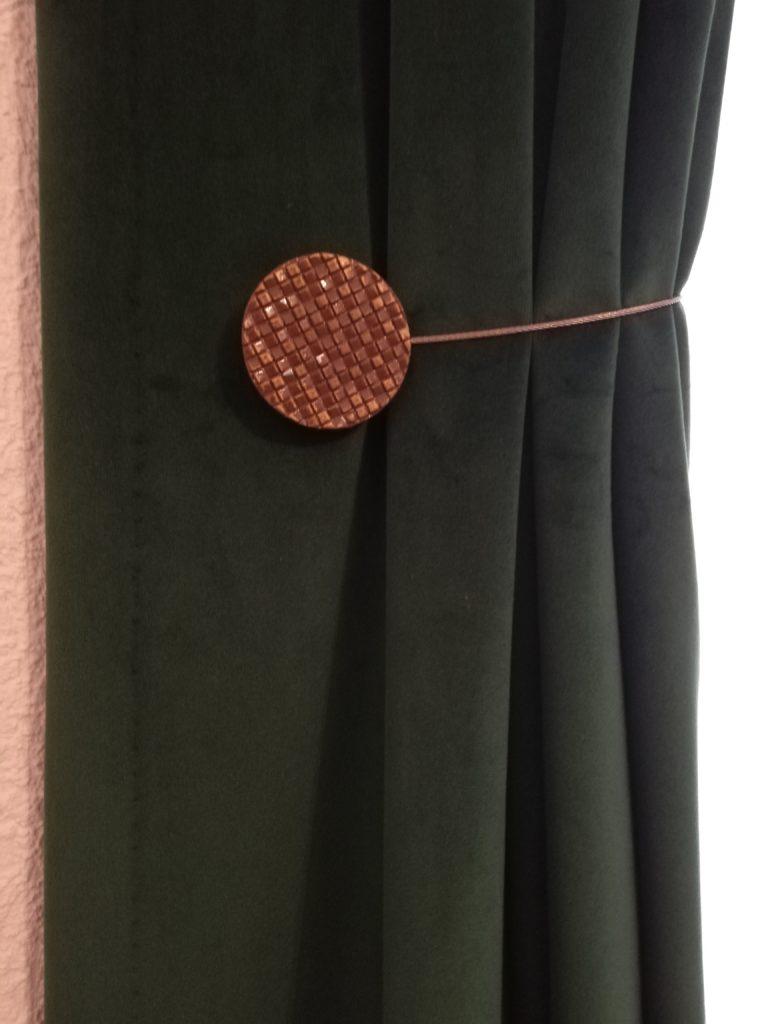 détail rideau