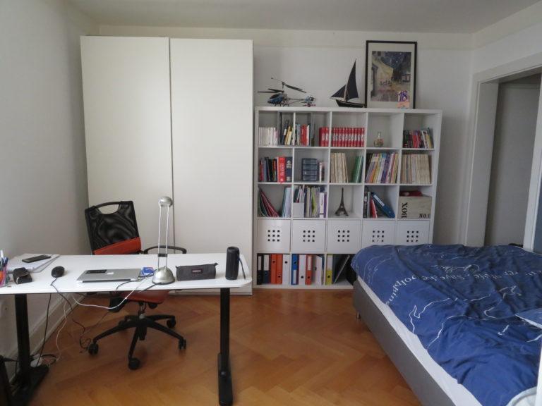 première chambre après travaux