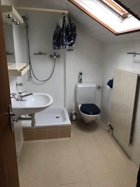 salle de douche avant
