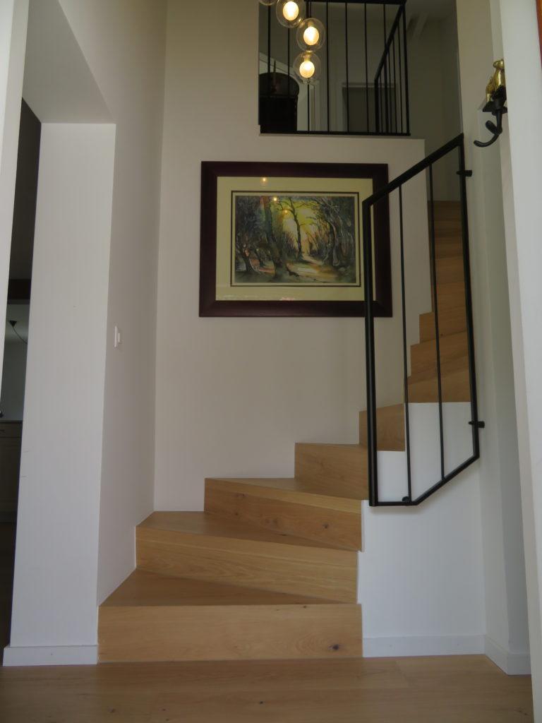 entrée et nouvel escalier