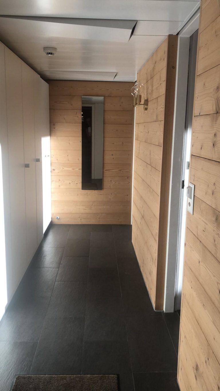 Le couloir après rénovation